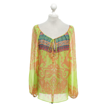 Hale Bob Tunic blouse made of silk