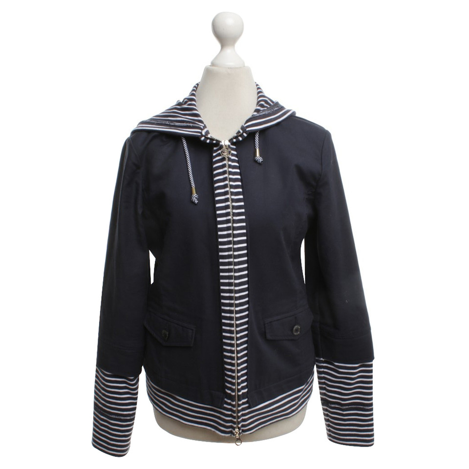 Armani Jeans Jacket with striped inserts