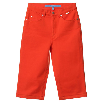 Escada Bermudas in Orange