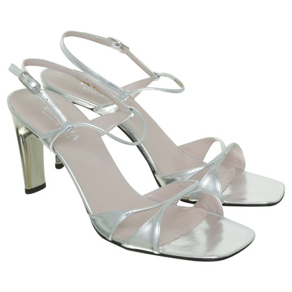 Escada Pumps in silver