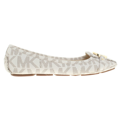Michael Kors Ballerinas with logo pattern