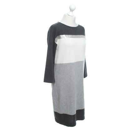 Luisa Cerano Gebreide jurk in driekleur