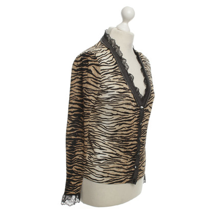 Escada Trui met animal print