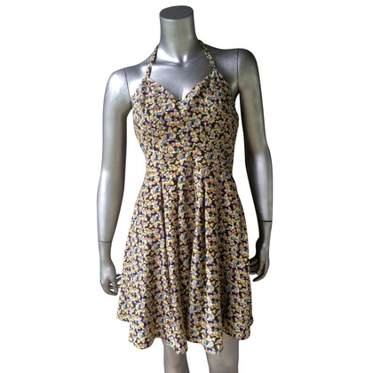 Elizabeth & James Halter dress with a floral pattern