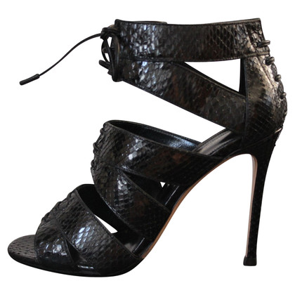 Gianvito Rossi Leather Sandals Python