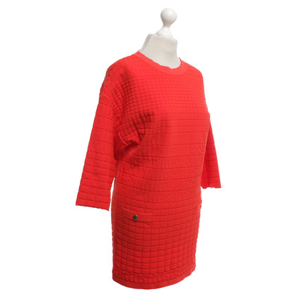 Elisabetta Franchi Knit dress in red