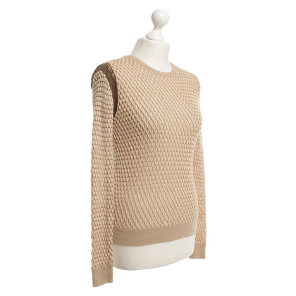 Carven Chunky knit sweater in beige