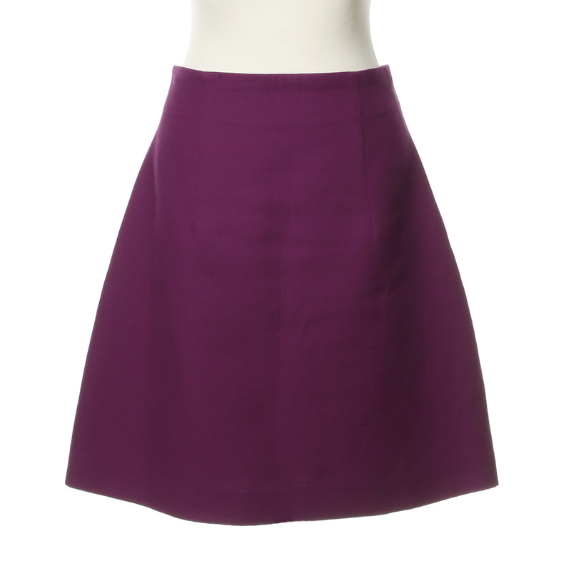 Miu Miu skirt purple