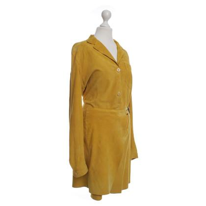 Other Designer Sylvie Schimmel - suede dress