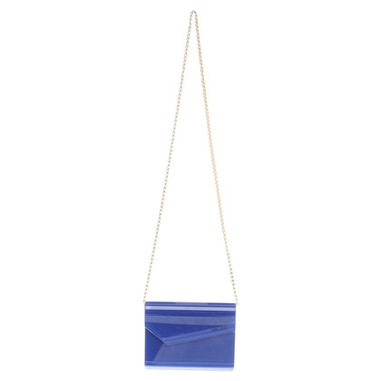 Jimmy Choo Clutch in Blau