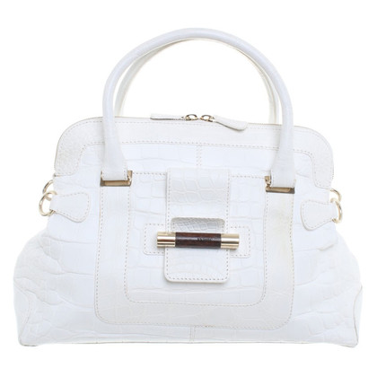 Ferre Handbag in white