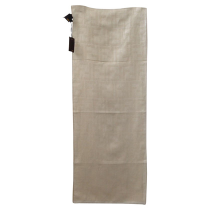 Fendi Scarf in linen / cotton