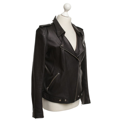 Theyskens' Theory Leather jacket in black
