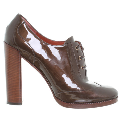 Marc by Marc Jacobs Copper patent booties