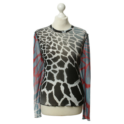 Just Cavalli top with coloured print