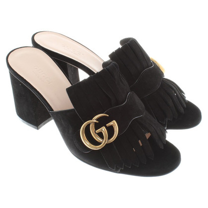 Gucci Mules in black