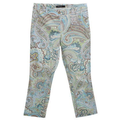 Marc Cain trousers with paisley pattern