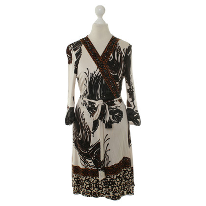 Hale Bob Wrap dress with pattern