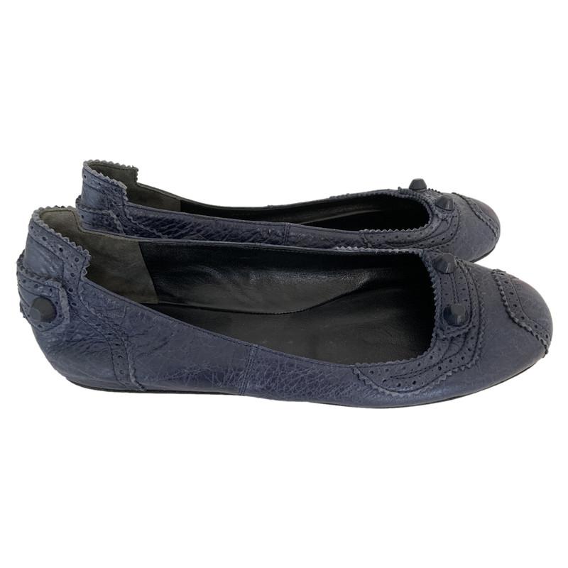 Balenciaga Slippers/Ballerinas Leather