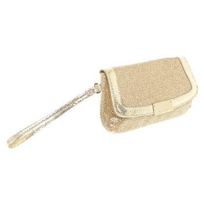 Jimmy Choo Goudkleurige clutch