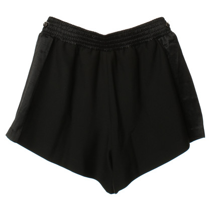 Maje Shorts in Schwarz