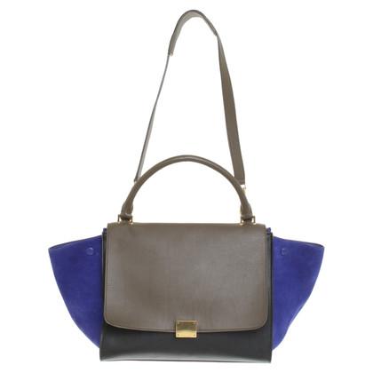 """Céline """"Trapeze Bag Large"""" in Tricolor"""