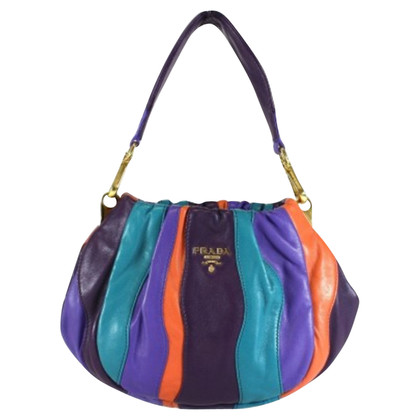 Prada Handbag with stripes pattern