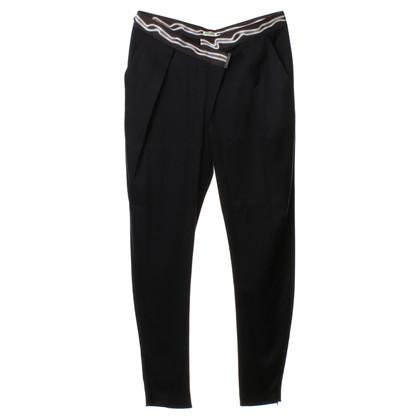 Kenzo Skinny broek in donkerblauw