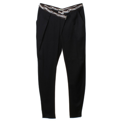 Kenzo Skinny pantaloni blu scuro