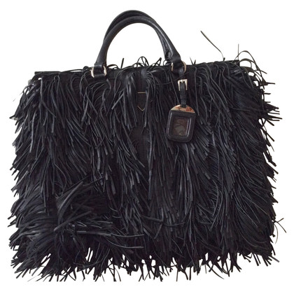 Prada Handbag with fringe decor