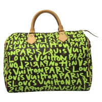 "Louis Vuitton ""Speedy 30"" Limited Edition Graffiti"