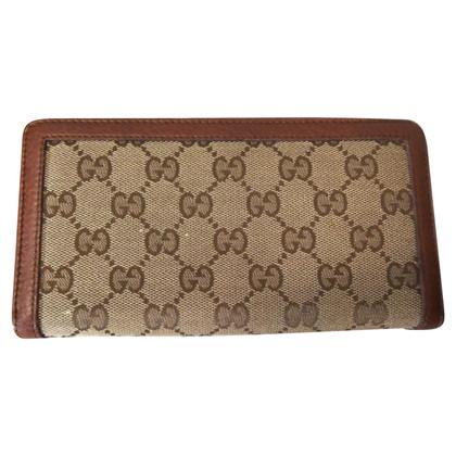 Gucci Geldbörse aus Leder