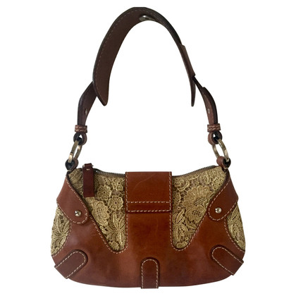 Valentino Bag in Brown and gold