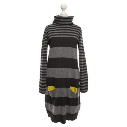 Escada Knitted dress with stripes