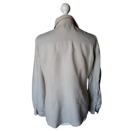 Armani Jeans camicia di lino