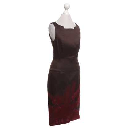 Hugo Boss Dress in brown with pattern