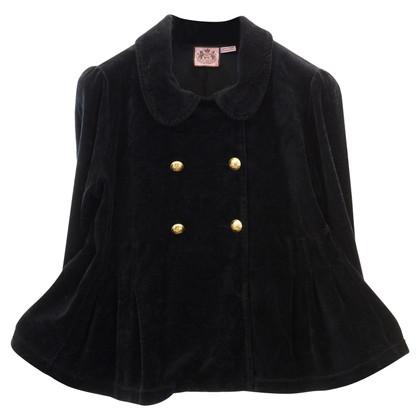 Juicy Couture Zwart fluwelen jasje