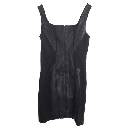 Helmut Lang Mini Leather Dress