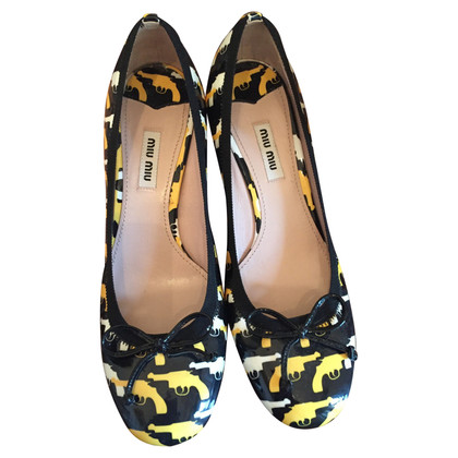 Miu Miu pumps with pattern