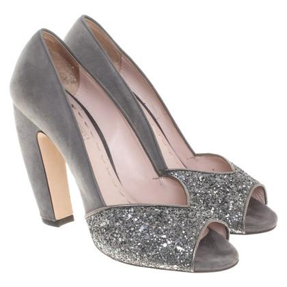 Miu Miu Peep-toes in grey