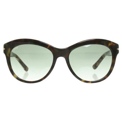 Loewe Occhiali da sole con il modello leopardo