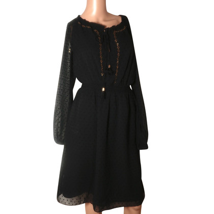 Altuzarra Black sequinned dress