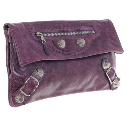 "Balenciaga ""Arena classic envelope"" in purple"