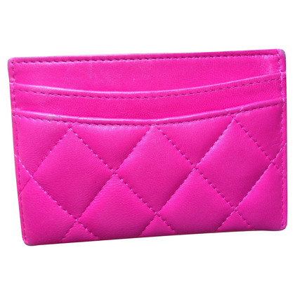 Chanel Card holder in pink
