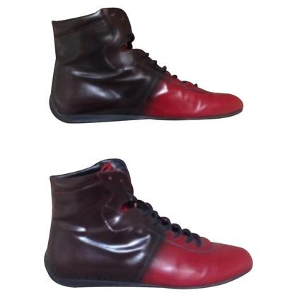 Prada Prada leather boots