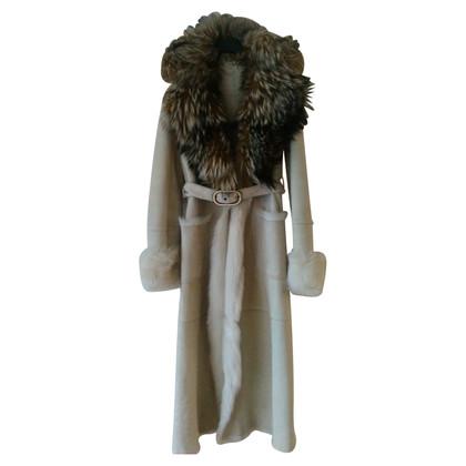 Valentino manteau en peau de mouton VALENTINO.