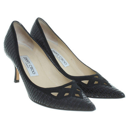 Jimmy Choo pumps with cut-outs