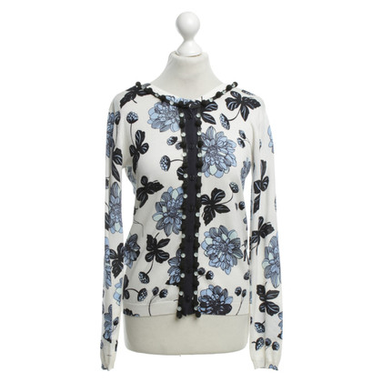 Twin-Set Simona Barbieri Sweater with floral pattern