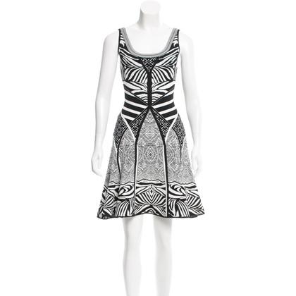 Diane von Furstenberg Korte jacquard gebreide jurk