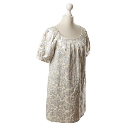 Tibi Kleid mit silberfarbenem Muster